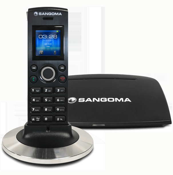 Sangoma-DC201-Wireless-VoIP-Phone